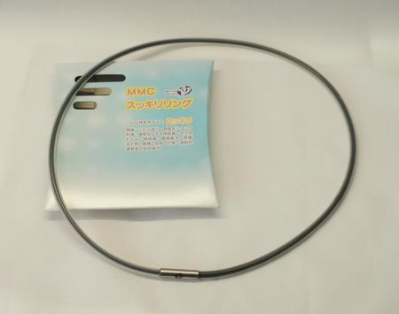 首用シリコン製ネックレス 黒 フリーサイズ650mm