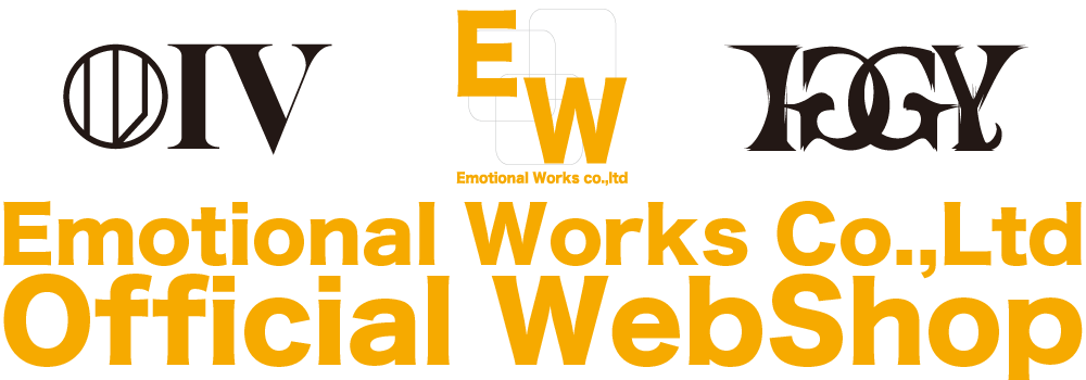 Emotional Works Co.,Ltd Official Web Shop!!