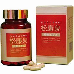 <p>松節エキス松康泉 松の自然治癒成分を豊富に含んだ松節 。<br><br>松節とは、通称を松瘤(樹皮が瘤状に増殖したもの)といい、<br>松の木自身が害虫や外傷による傷を治すために松の成分が集中して<br>できたものです。<br><br>化学医薬品で一時しのぎせず、病気の元栓を閉めよう。<br><br>●関節が痛いことが原因で歩きにくい方に<br><br>●正座ができない方に</p><p>2013年7月1日より値上げになりました。申し訳ありません。</p>