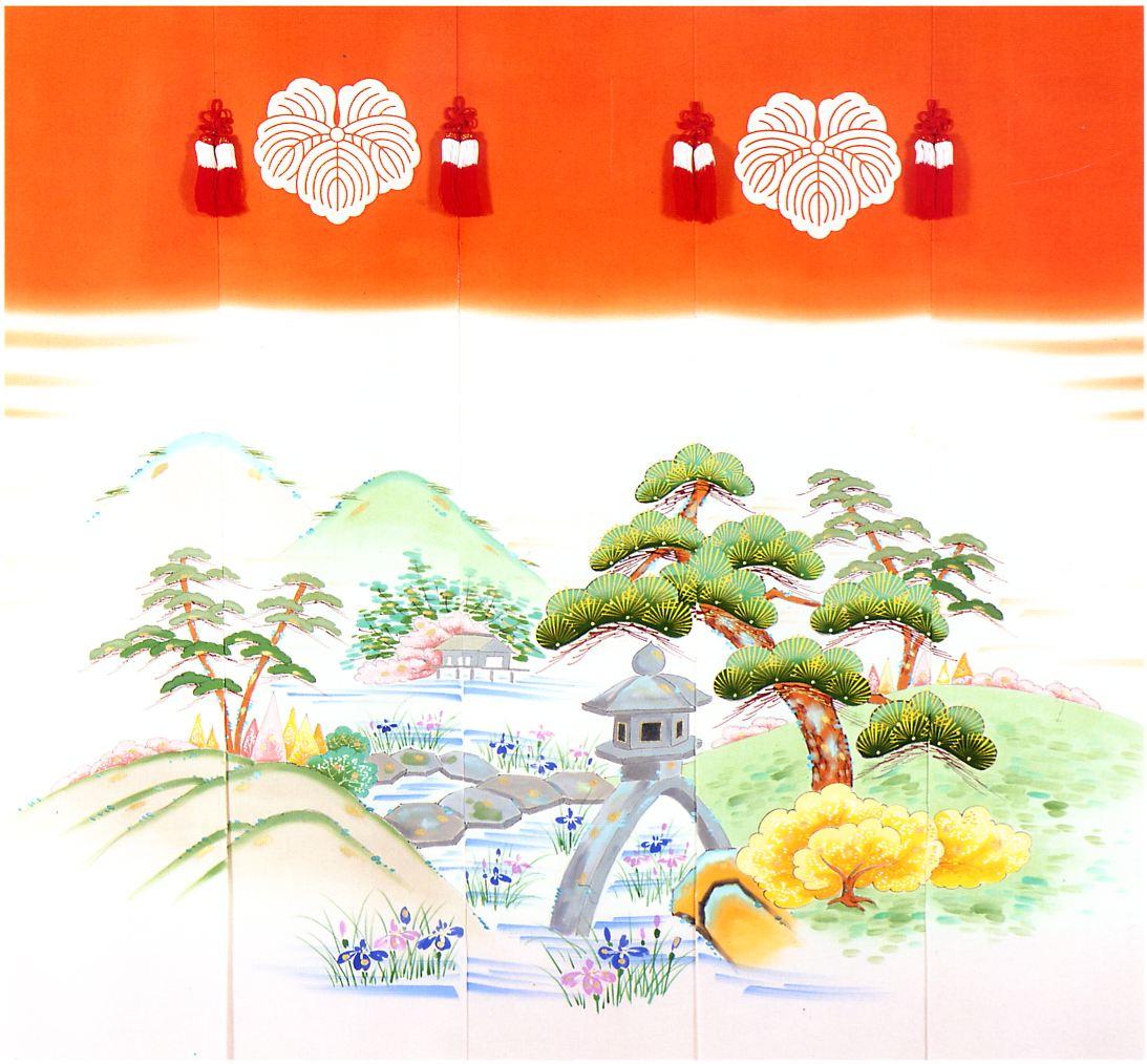 兼六園1 手描き クリックすると大きい画像が見られます。