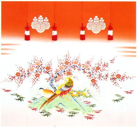金鶏鳥 手描き クリックすると大きい画像が見られます。