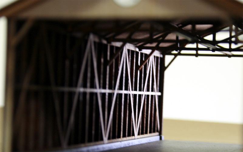 内部梁の構造