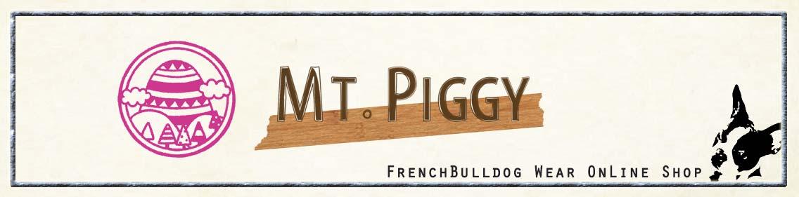 フレンチブルドック 服『Mt.piggy』