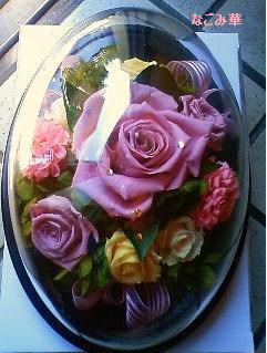 ホコリが被らないので、お花のお手入れが楽です。