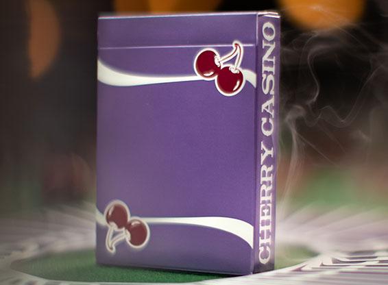 <div>大人気チェリー・カジノ・デックにパープル(紫)が登場!!</div>