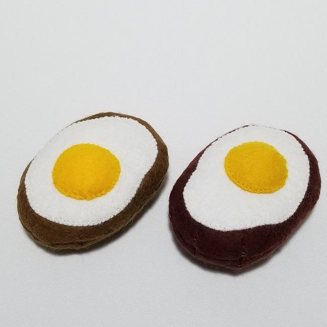 猫用またたびおもちゃ     【ハンバーグ&エビフライ】セット