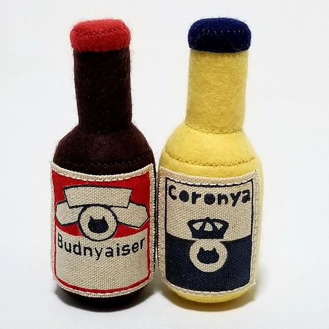 猫用またたびおもちゃ     【瓶ビールセット】