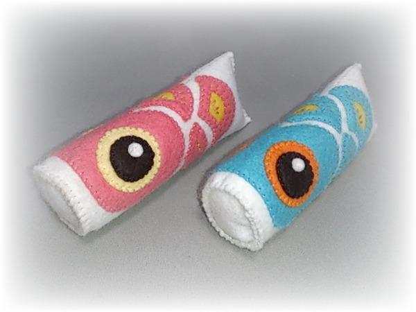 猫用またたびおもちゃ     【鯉のぼり】ピンク