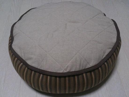 猫ベッド【茶/灰】ユウパック