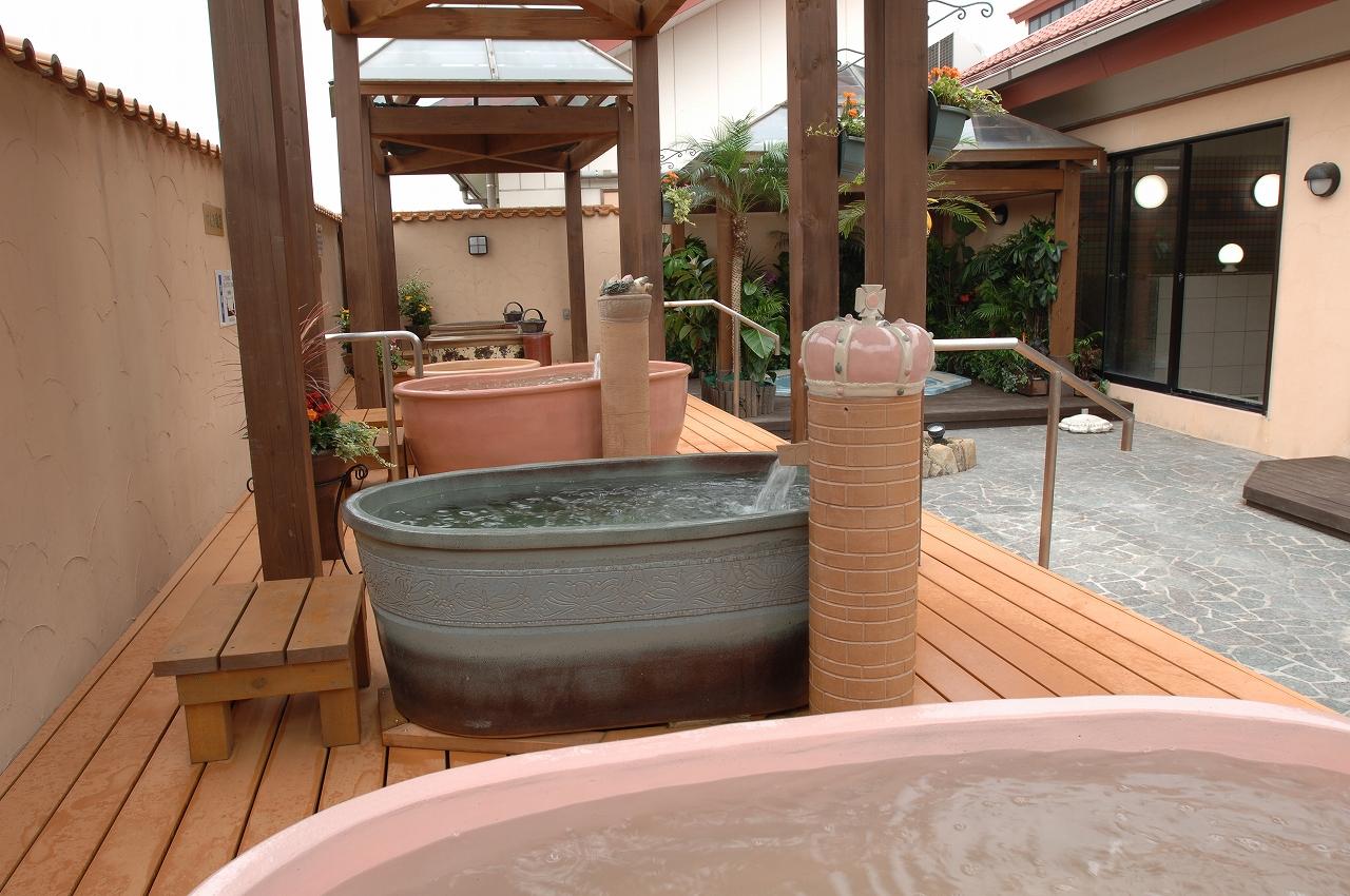 洋風釜風呂