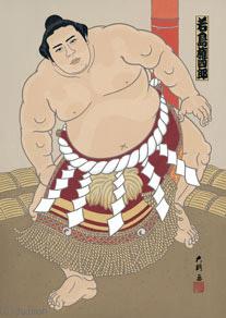 大相撲錦絵 大門 通販ページ