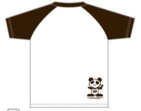 COPPE-PANDA ラグランTシャツ