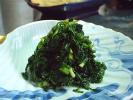 中島菜のあっさり塩漬け