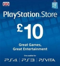 """PSN プレイステーションネットワーク ストア カード 10£ ポンド 欧州 UK イギリス版<br>電送します。コードはメールでお知らせしますので、<br><span style=""""margin: 0px auto; border: 2px dotted rgb(0, 0, 0); position: absolute; z-index: 2147483647; visibility: hidden; left: 406px; width: 0px; top: 89px; height: 0px;""""></span><span style=""""z-index: 2147483647; position: absolute; visibility: hidden; left: 391px; width: 50px; top: 74px; height: 20px; font-size: 10px; color: black;""""></span>送料はかかりません。カードの発送はしません。"""