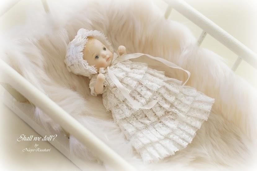 おめざめベビーちゃんの着用イメージです。