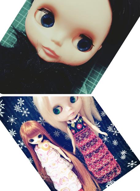 帽子以外のドレスやストールはブライスやリカちゃん等のお人形に着せていただけます。(オリジナルドール以外の人形は商品に含まれません。)