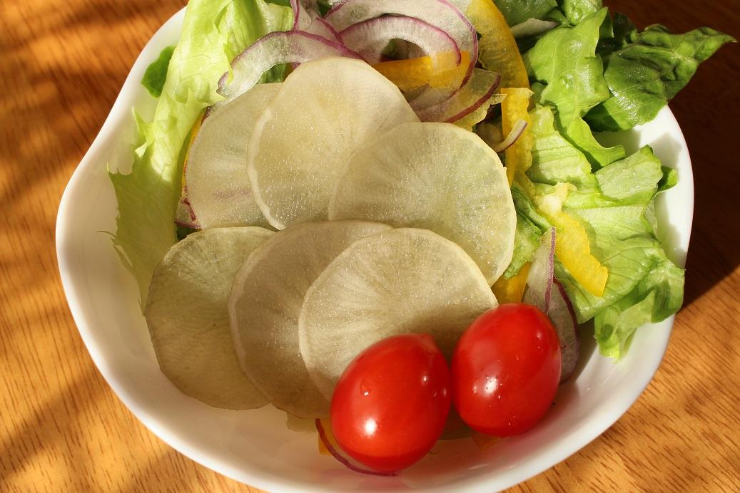 お勧め!サラダで丸ごとヤーコンを食べよう!