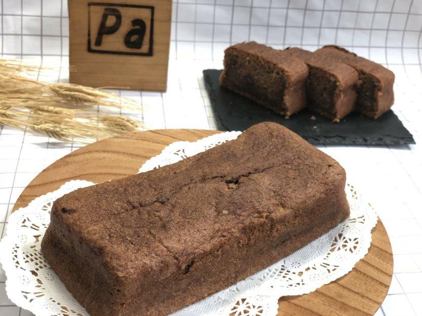 小麦粉とおからのしっとりもっちりしたチョコケーキ