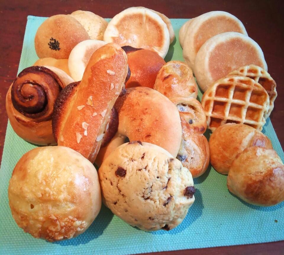 いろんな菓子パン約16個のセット