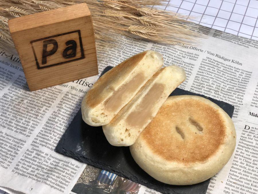 北海道産てぼう豆をあまみあっさりの白あんに仕上げてあります