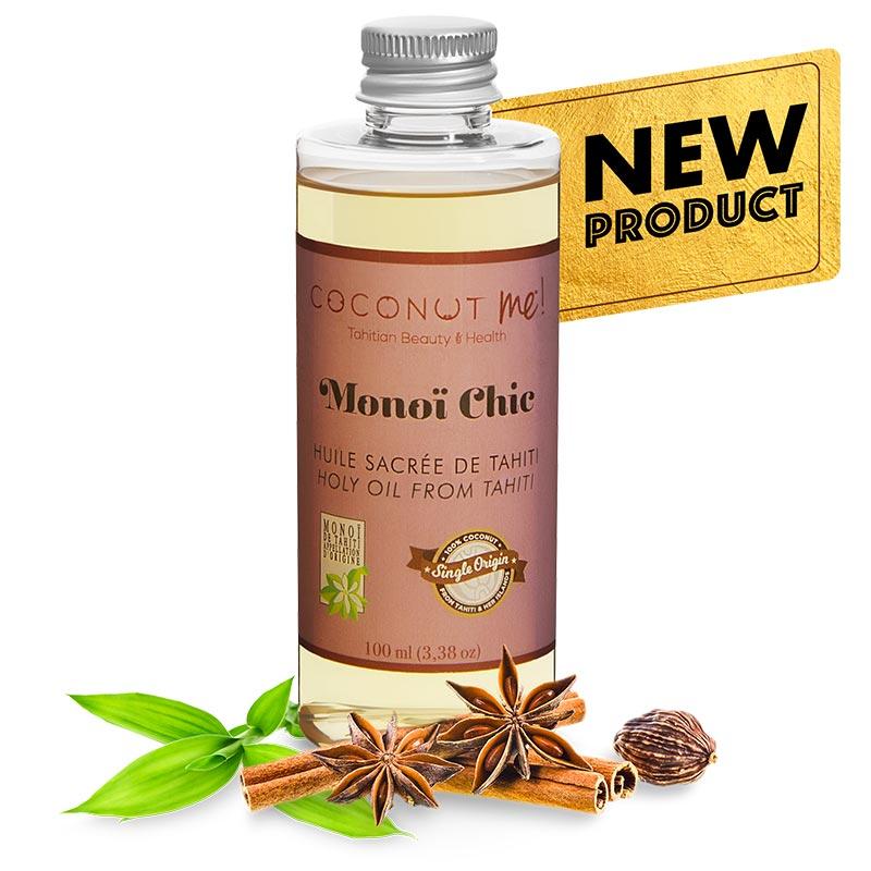 ユネスコ生物圏保護区にも指定されている「ニアウ島」のココナッツだけを使用した希少価値の高い「オーガニックヴァージンオイル」<br>COCONUT&nbsp; me ! より新しい香りが登場しました。<br>肌にも安心のオーガニックオイルは全身にお使いいただけます。<br>香り豊かなティアレの香りにスパイシーな上品な香り。<br>香水にもお使いいただけます。<br>