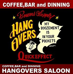 HANGOVERS SALOON BLOG