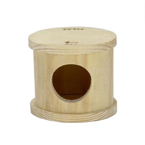 ドワーフハムスター用の キュートな木製ハウス!!