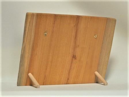 木製フォトフレーム KG版はがきサイズ壁掛け対応 No.6 欅