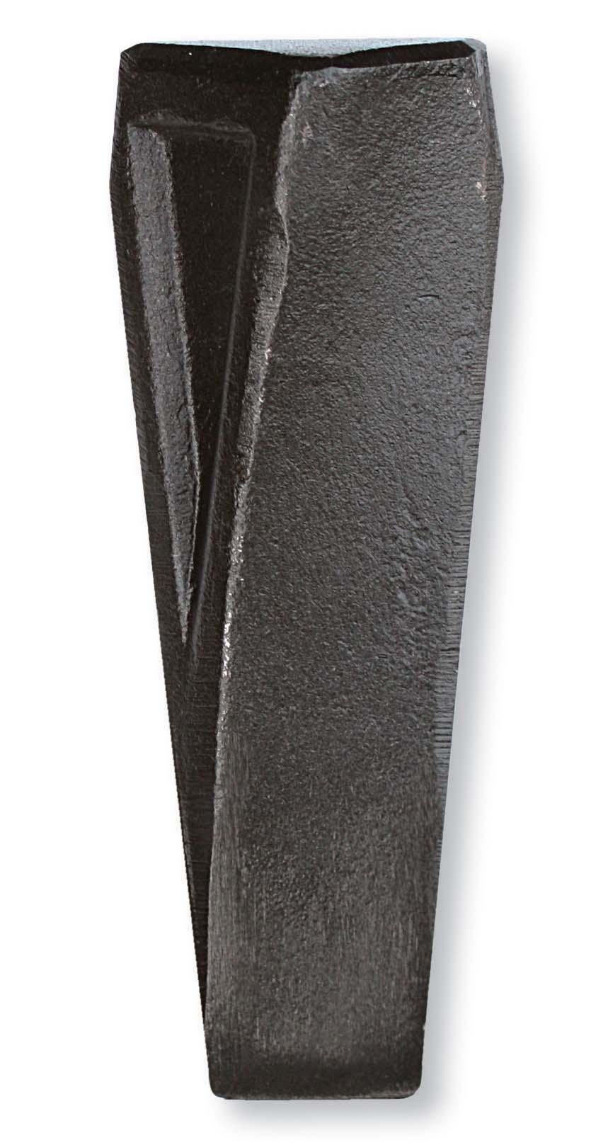 SNW2 割り裂き力に優れた薪割りくさび。 くさび頭が大きく、ハンマーの当たりが良いデザイン。 薪割りでは割り切れない時に。(フランス製) 刃先:42×215mm 重量:2000g 材質:鉄