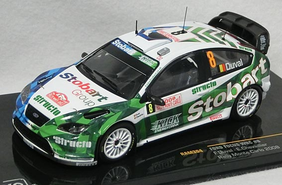 Ford Focus RS07 WRC No 14 Rally Monte Carlo 2008