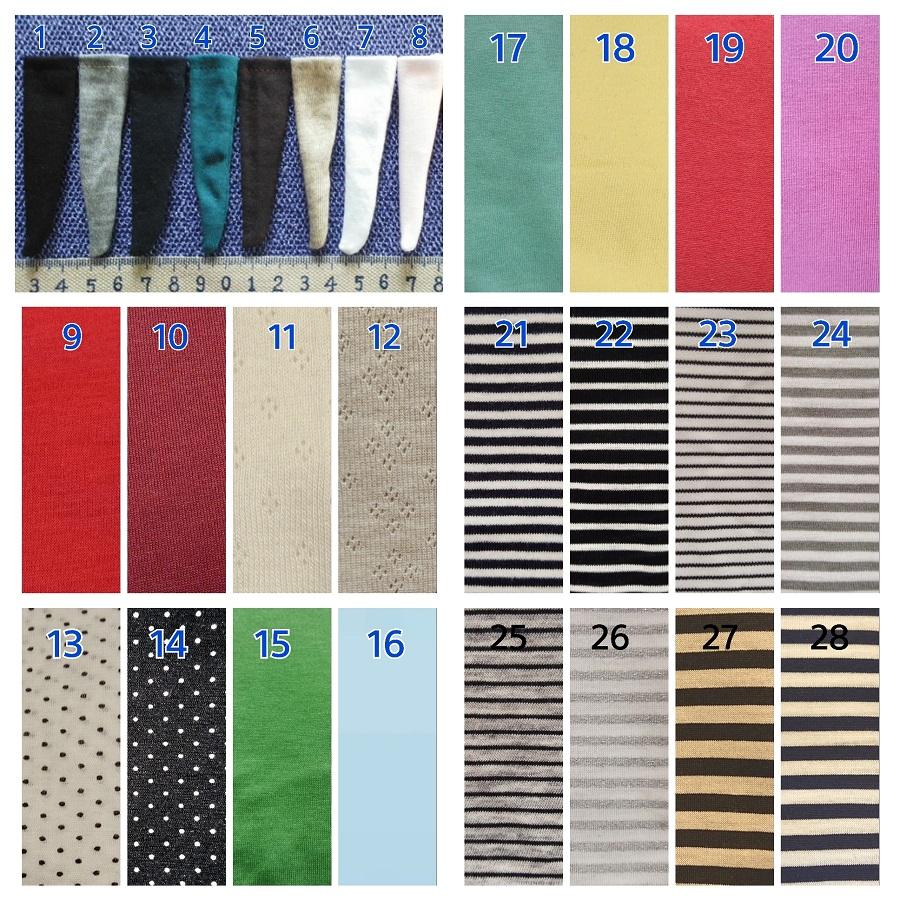 綿ニットなどの伸縮性のあるニット素材使用。<div>くるぶしまでの長さ。</div><div><br></div><div>長さ約2.5cm。</div><div><br></div><div><br></div>