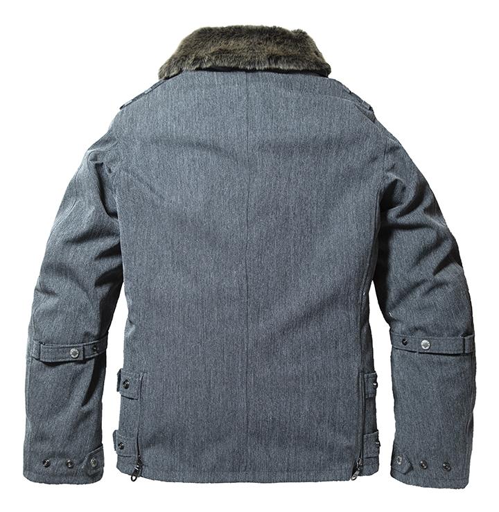 ヘリンボーングレー(Back style)