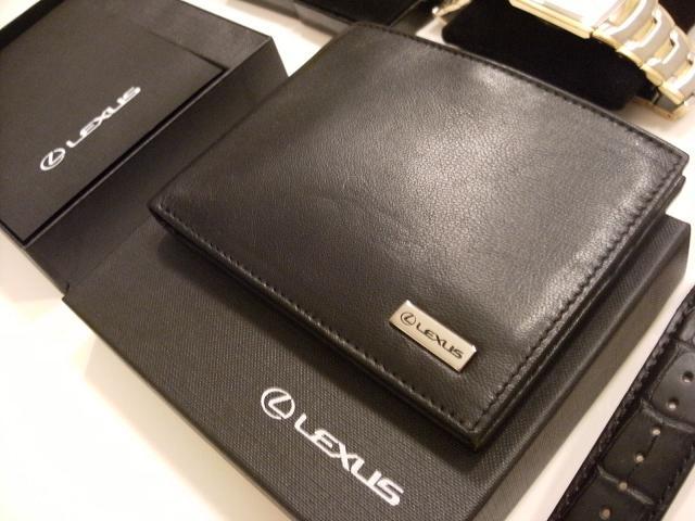 c87b99043ecf Lexus Leather Mens Wallet Type-1   LexusBoutique.jp - Online Lexus ...