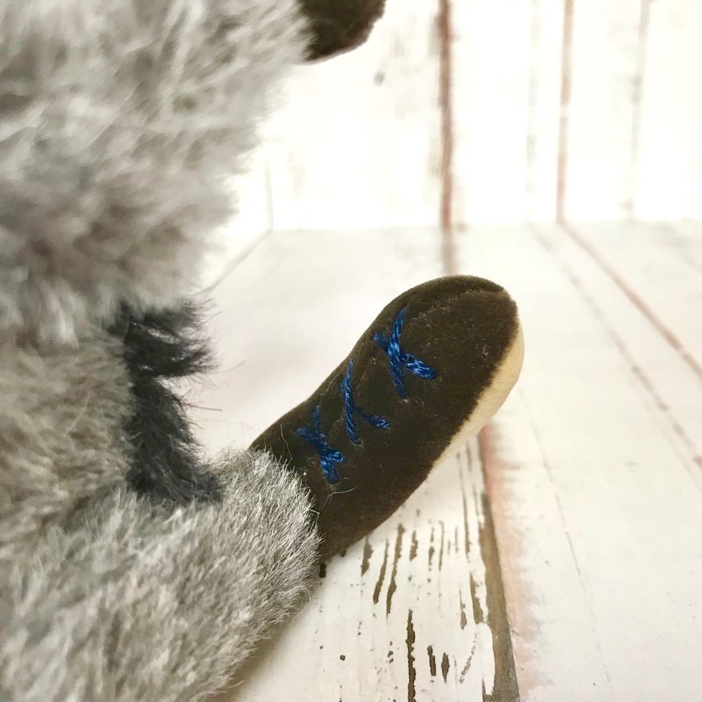 靴を履いているようなデザインです