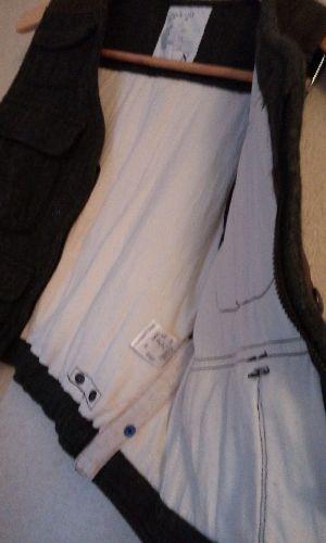 中の脇縫いに麻の当て布がこだわってます。裏地の綿もとても良い生地です
