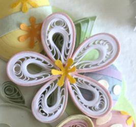 このお花は爪楊枝を使って作ります