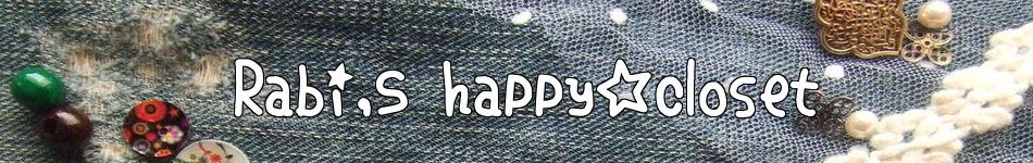 Rabi's happy☆closet