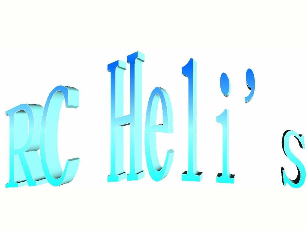 RC Heli's