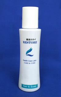 <b>うっ血や汗かきに頭皮ロカイ</b><br />のぼせ性で汗かき、うっ血しやすい頭皮のプレケアに。