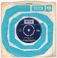 A : SUSPICIONS (Part One)<br><br>B : SUSPICIONS (Part Two)<br><br>UK / 1967 / DECCA / F.12684 / M-<br><br>Stunning pristine copy !!