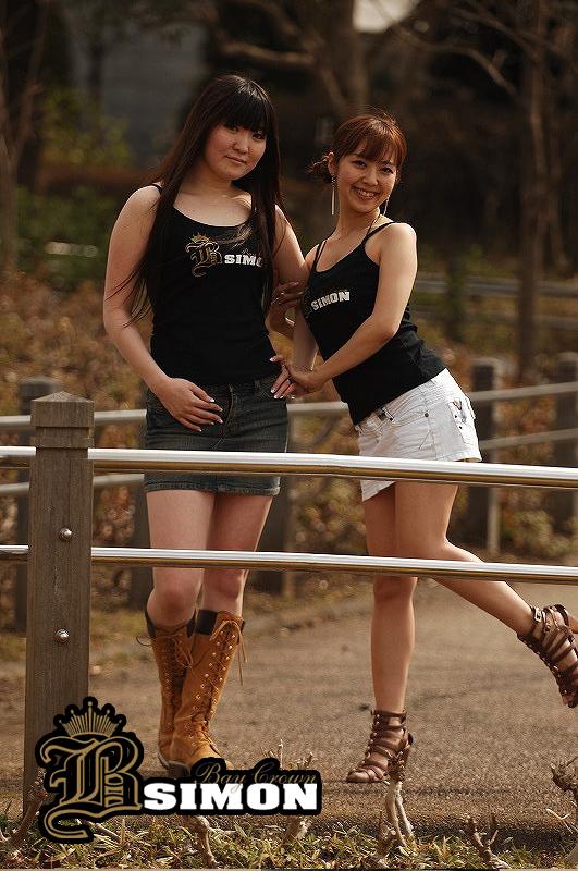 モデル MAYU(169cm)【size M】、KAZUMI(154cm)【size M】