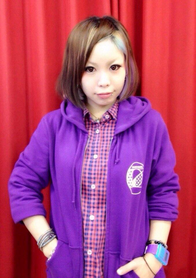 purple ver. ※モデルSsize着用