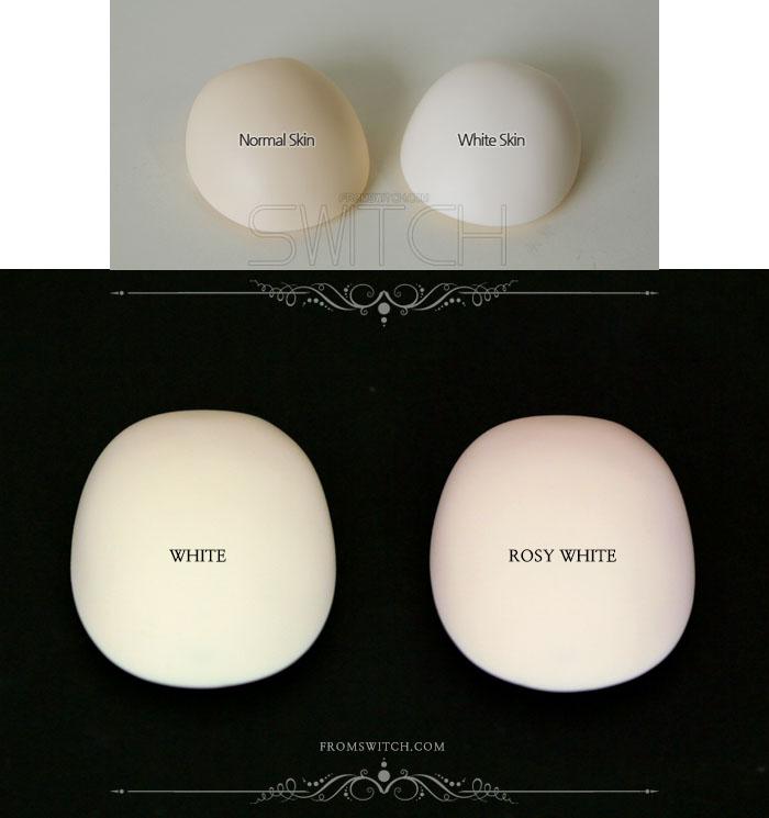お選びいただけるのはローズホワイト肌です