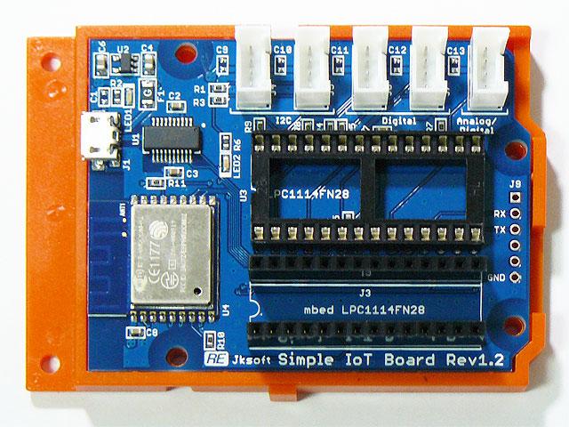 Arduino用ケース装着例