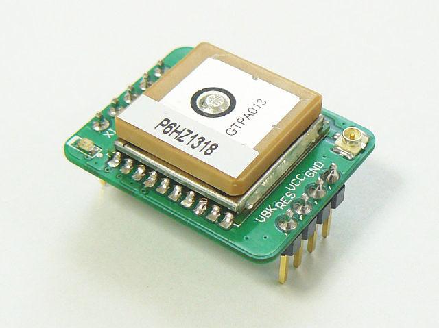 外部アンテナ接続用U.FLコネクタが実装されています