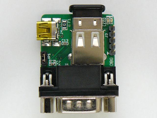 Bluetoothアダプタを接続するとこうなります
