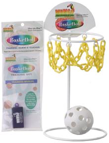 鳥用バスケットボール&クリッカー&トレーニングガイド(3サイズ)