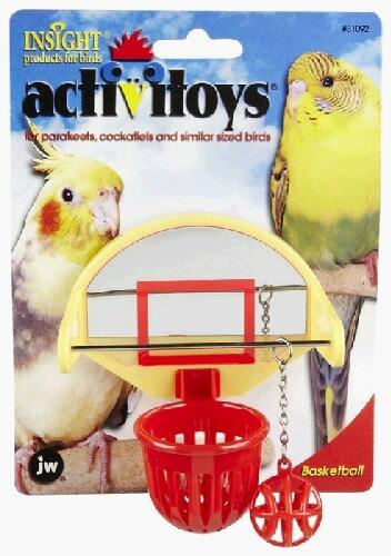 鳥さん用バスケットボールセットS