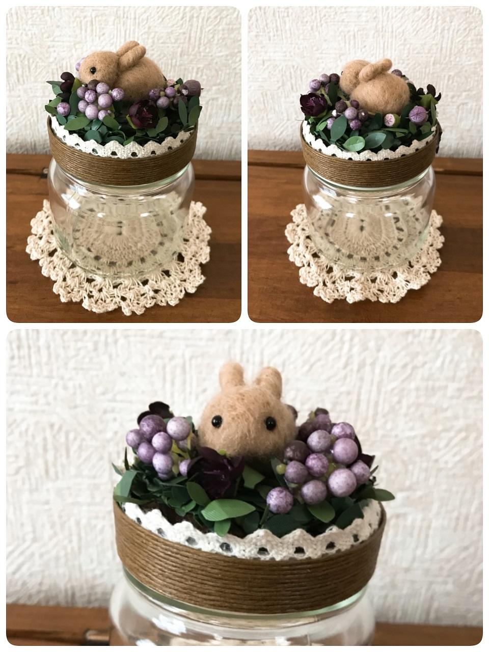 C)紫系のお花畑