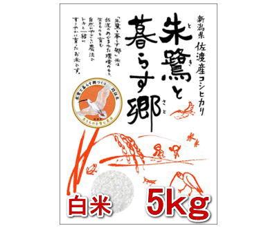 朱鷺と暮らす郷(佐渡市認定米) 5kg